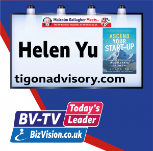 Helen Yu guests on BV-TV Today's Leader Channel