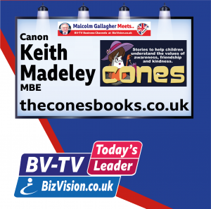 Keithe Madeley of Cones Books on BizVision BV-TV