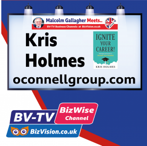 Kris Holmes author of Ignite Your Career returns to BV-TV