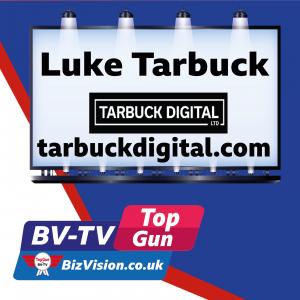Luke Tarbuck on Bv-TV at bizvision.co.uk