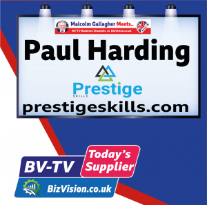 Paul Harding of Prestige Skills on BV-TV Todays Supplier Channel