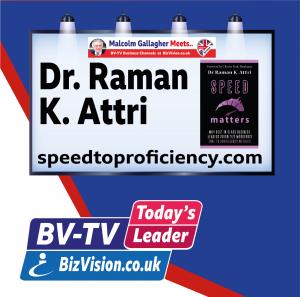 Dr. Raman K. Attri on BV-TV Todays Leader Channel