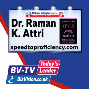 It's time to re-think why speed matters says author Dr. Raman K. Attri on BV-TV