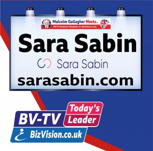 Sara Sabin on Bv-TV at Bizvision.co.uk