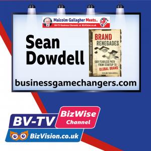 "The ""Tattooed Millionaire"" Sean Dowdell talks Brand Renegades on BV-TV"
