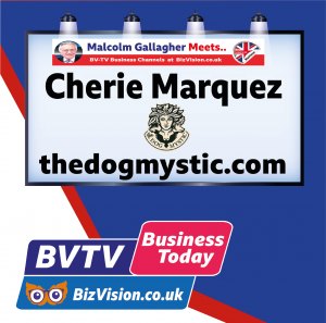 Charie Marquez, the Dog Mystion on BV TV at Bizvision.co.uk