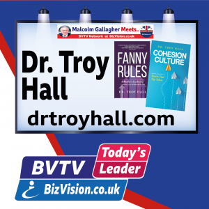 """Talent retention CAN be achieved says """"Cohesion Culture"""" author Dr. Troy Hall on BVTV"""