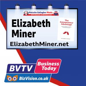Elizabeth Miner on BVTV at BizVision.co.uk