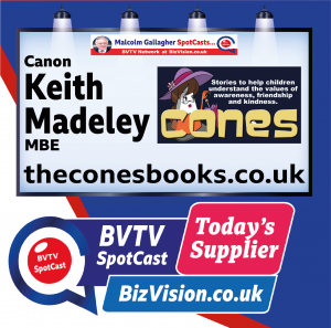 Keith Madeley of the cones books on BVTV Todays Supplier spotCast at BizVision.co.uk