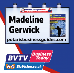 Madeline Gerwick aouthor The Good Timing Guide on BVTV at BizVision.co.uk