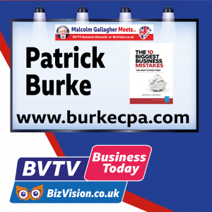 Author Patrick Burke CPA answers viewers questions in a first for BVTV