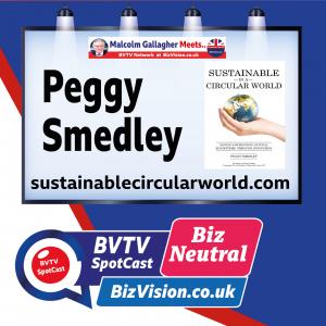 Sustainable Circular World author Peggy Smedley on BVTV BizNeutral