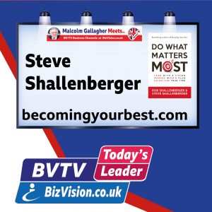 Tou can improve your productivity as much as 50% says author Steve Shallenberger on BVTV