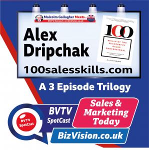Alex Dripchack on BVTV at BizVision.co.uk