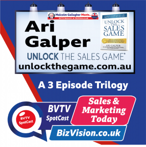Ari Galper on BVTV at BizVision.co.uk