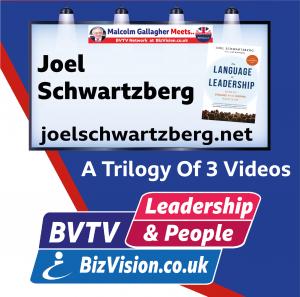 Joel Schwartzberg on BVTV at BizVision.co.uk