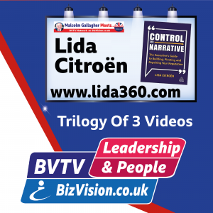 Control The Narrative to protect & repair your reputation says author Lida Citroen on BVTV