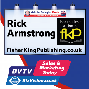 Top publisher, Rick Armstrong, tells BVTV what makes a great book