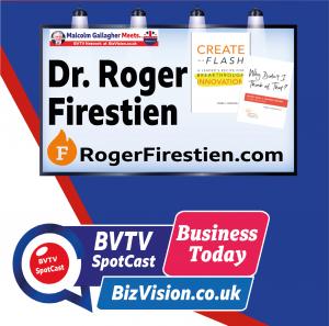 Roger Firestien on BVTV at BizVision.co.uk