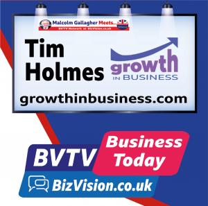 Tim Holmes on BVTV at BizVision.co.uk