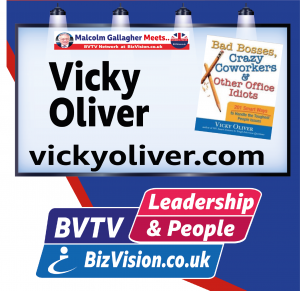Vicky Oliver on BVTV at BizVision.co.uk