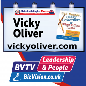 The People Retention Trilogy with author Vicky Oliver on BVTV hits hard into today's big problem