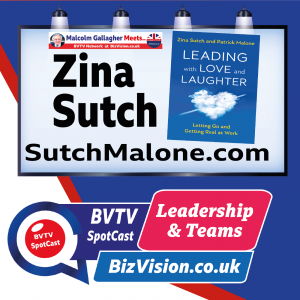Are you leading with Love & Laughter asks author Zina Sutch on BVTV Leadership Channel