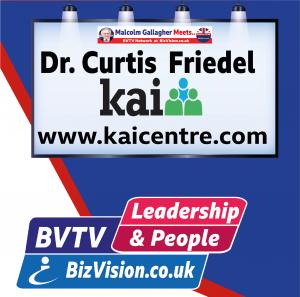 Dr. Curtis Friedel on BVTV at bizvision.co.uk