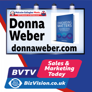 Transform new customers into loyal customers with onboarding says author Donna Weber on BVTV Trilogy