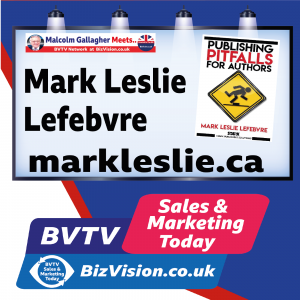 Watch out for the pitfalls if you are writing a book says expert Mark Leslie Lefebvre on BVTV Duology